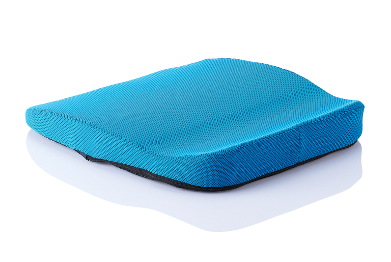 orthopaedisches Sitzkissen Hueftkissen mobil/auto blau