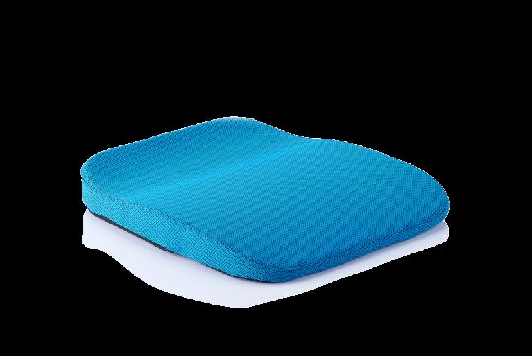 orthopaedisches Sitzkissen mobil/auto blau