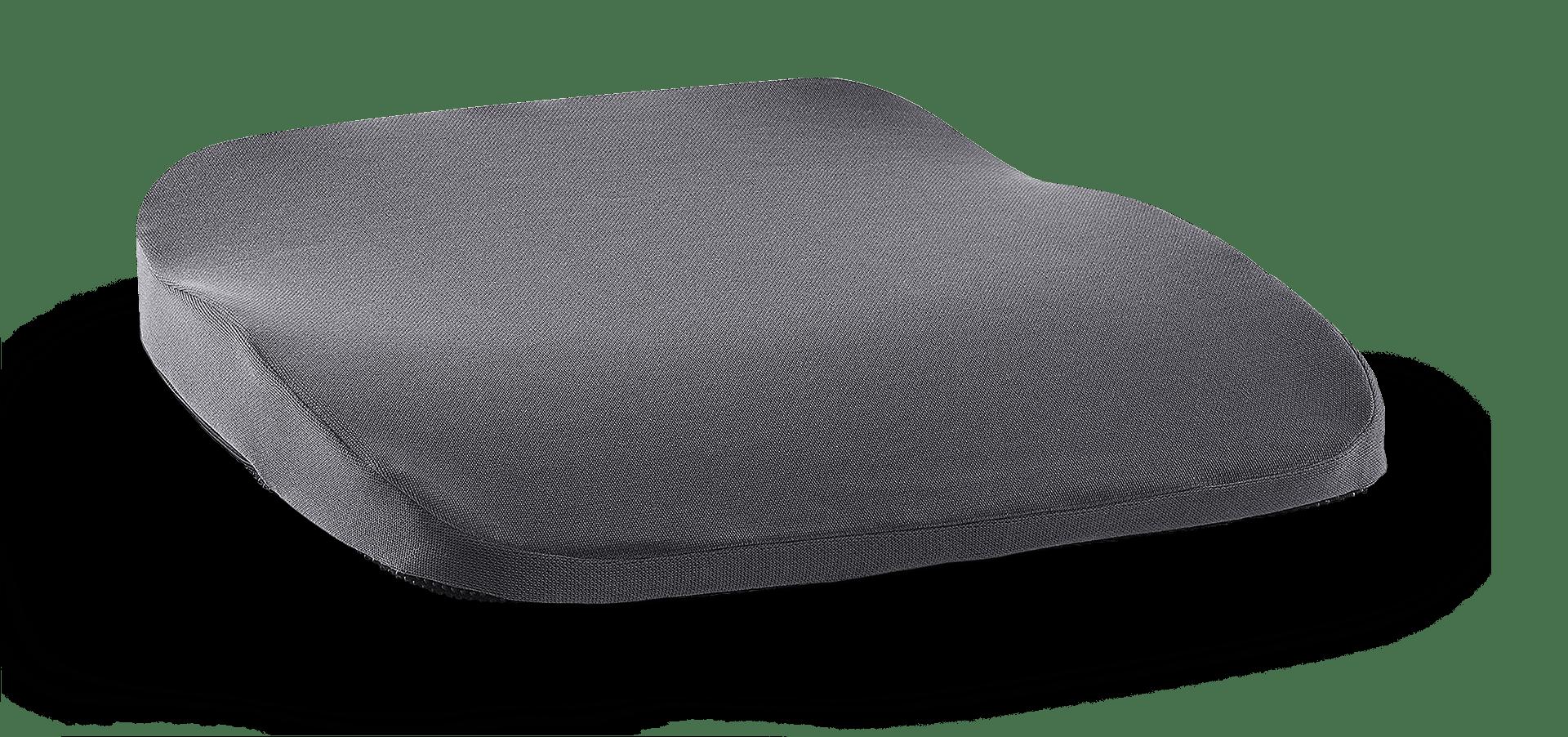 orthopaedisches Sitzkissen hueftkissen pkw sitzauflage grau